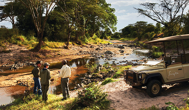 Singita Faru Faru Lodge: Game Drive