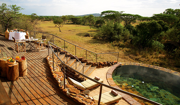Singita Faru Faru Lodge: Villa Suite Deck