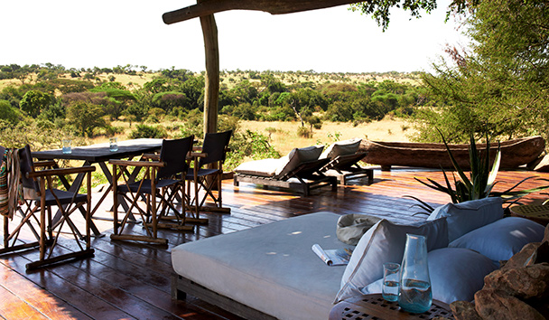 Singita Faru Faru Lodge: Suite Deck