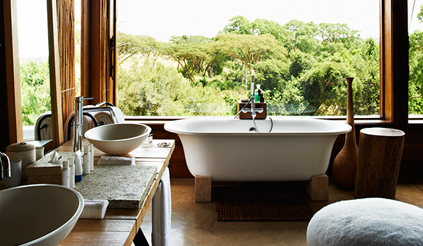 Singita Faru Faru Lodge: Suite Bathroom