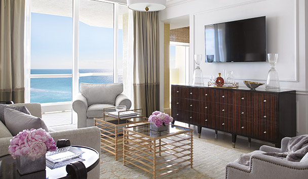 Acqualina Resort & Spa On The Beach: One Bedroom Oceanfront Suite