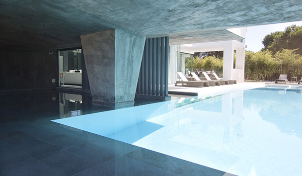 Villa Orchid: Geothermal Swimming Pool
