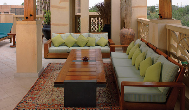 Jumeirah Malakiya Villas: Private Terrace