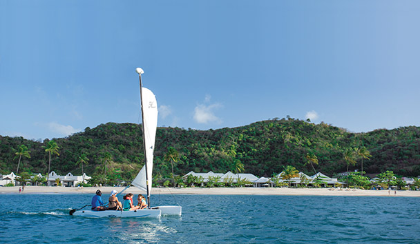 Spice Island Beach Resort: Hobie Cat Sailing