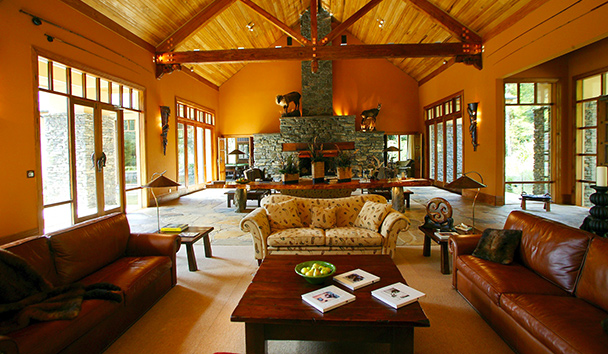 Treetops Lodge & Estate: Grand Room