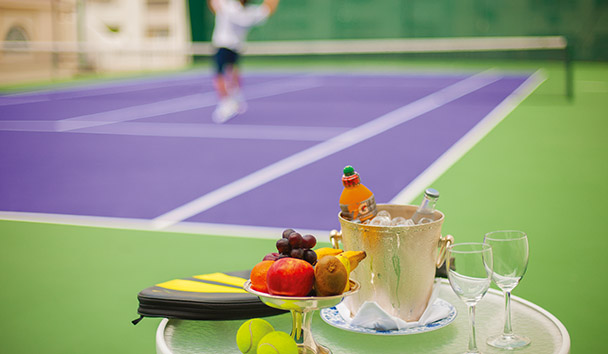 Belmond Copacabana Palace: Tennis Court