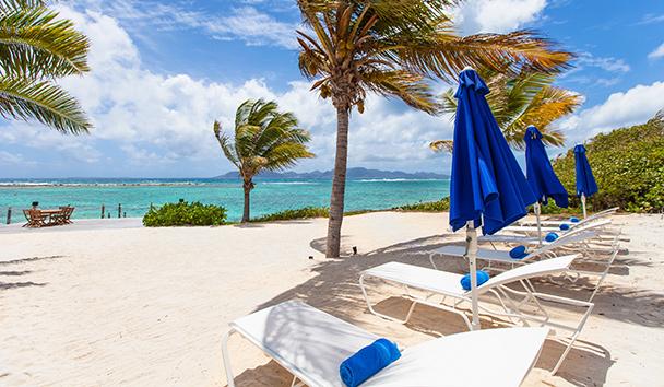 Indigo, Anguilla: Private beach
