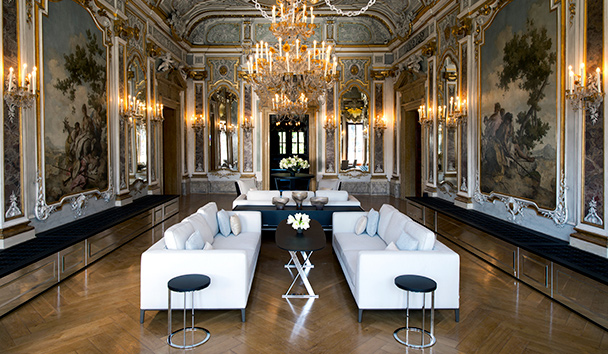 Aman Venice: Piano Nobile Lounge