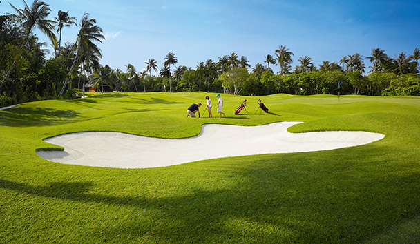 Velaa Private Island: Velaa Golf Academy
