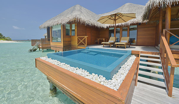 PER AQUUM Huvafen Fushi: Lagoon Bungalow with Pool