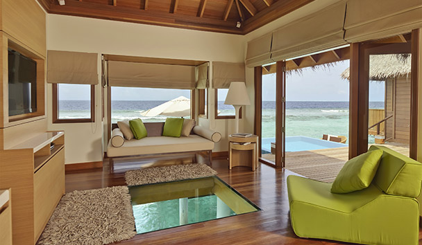 PER AQUUM Huvafen Fushi: Ocean Bungalow with Pool