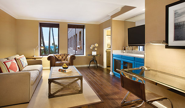 Fairmont Miramar Hotel & Bungalows: Signature Ocean View Suite