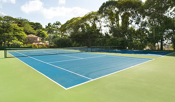 Fairmont Royal Pavilion: Tennis Court