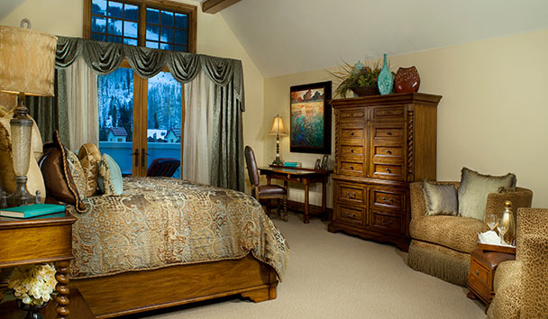 The Arrabelle at Vail Square: Penthouse Bedroom