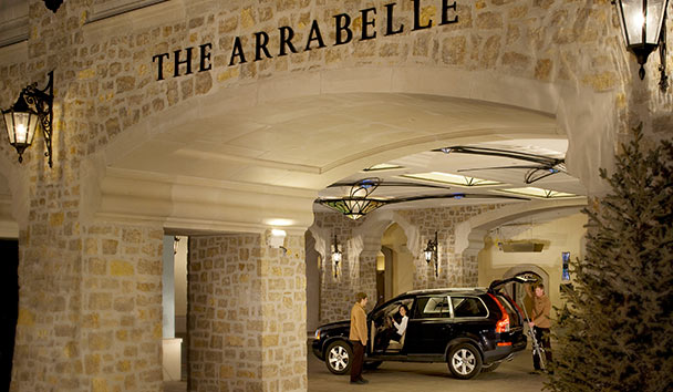 The Arrabelle at Vail Square: Entrance