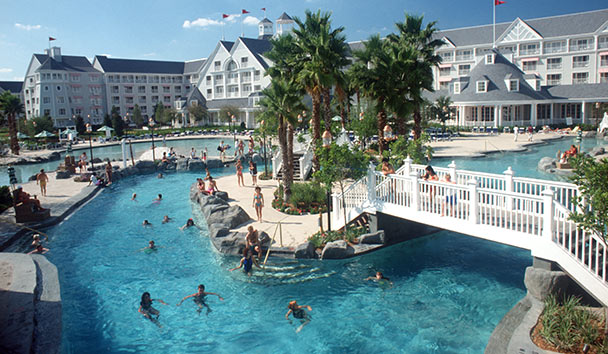 Disney's Yacht Club Resort, Orlando: Outdoor Pool