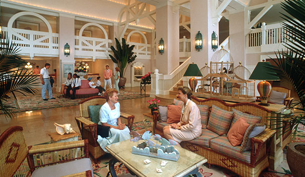 Disney's Yacht Club Resort, Orlando: Lobby