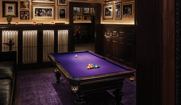 The New York EDITION: Billiard Room