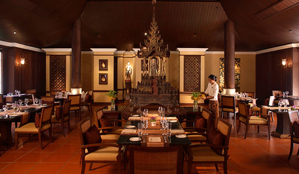 The Dhara Dhevi: Dining