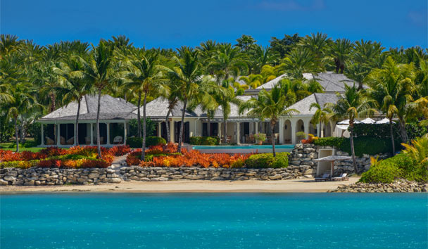 Kairos Villa at Jumby Bay Island: Resort View