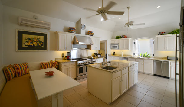 Kairos Villa at Jumby Bay Island: Kitchen