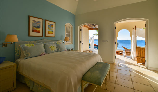 Kairos Villa at Jumby Bay Island: Bedroom