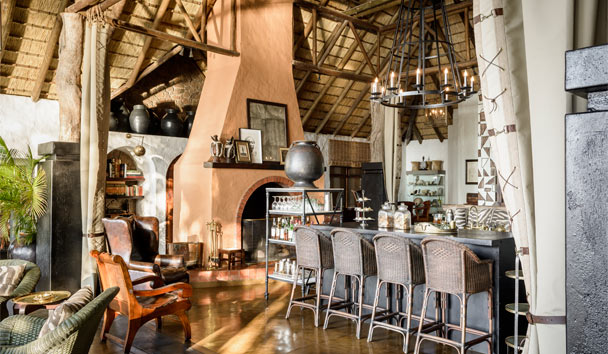 Singita Ebony Lodge: Bar Area