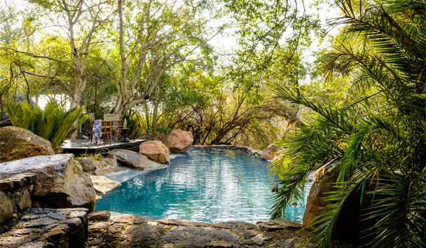 Singita Ebony Lodge: Pool