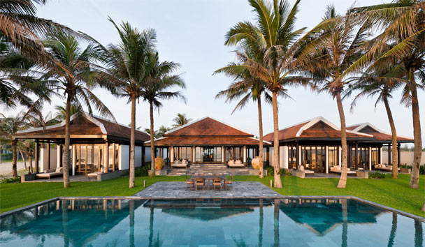 Four Seasons Resort The Nam Hai, Hoi An: Three Bedroom Beachfront Villa