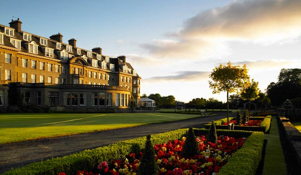 The Gleneagles Hotel: Exterior