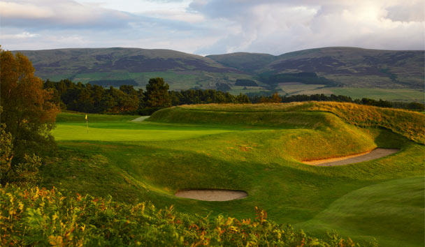The Gleneagles Hotel: Golf
