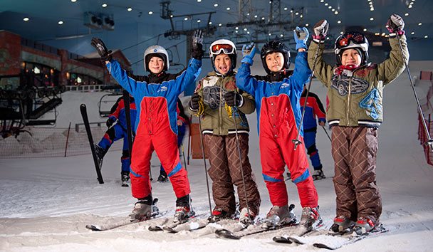 City Attractions: Ski Dubai