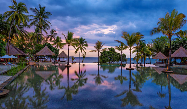 The Oberoi Beach Resort, Lombok: Exterior Pool