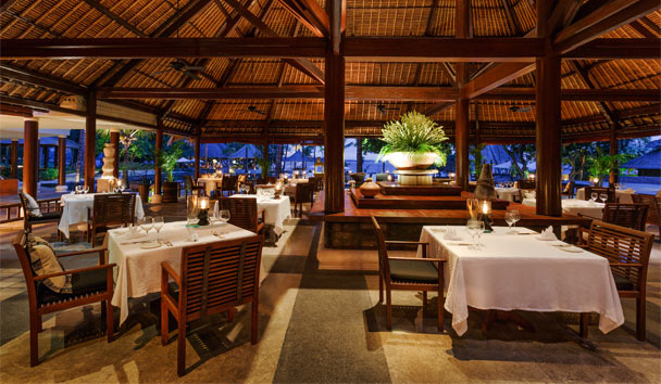 The Oberoi Beach Resort, Lombok: Restaurant