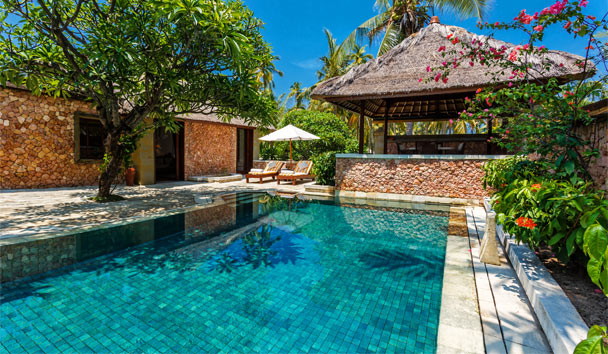 The Oberoi Beach Resort, Lombok: Villa Swimming Pool