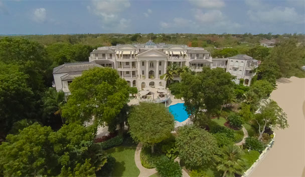 One Sandy Lane: Exterior Aerial View