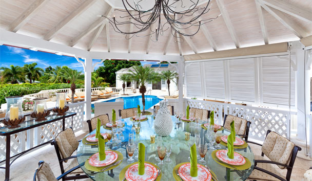 Half Century House at Sugar Hill Resort: Dining Terrace