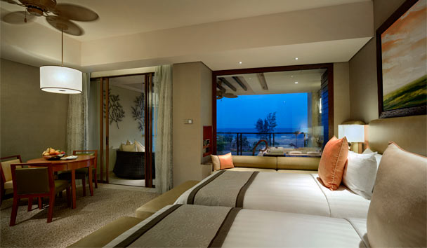 Shangri-La's Rasa Ria Resort & Spa: Ocean Wing Twin Bedroom