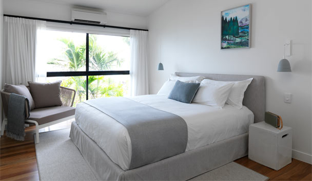 Lizard Island: Beach View Suite Bedroom