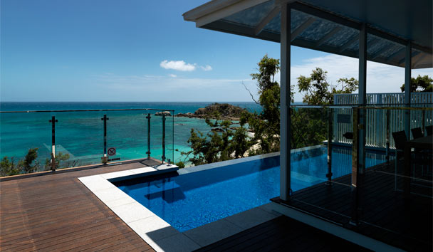 Lizard Island: Villa Pool Terrace