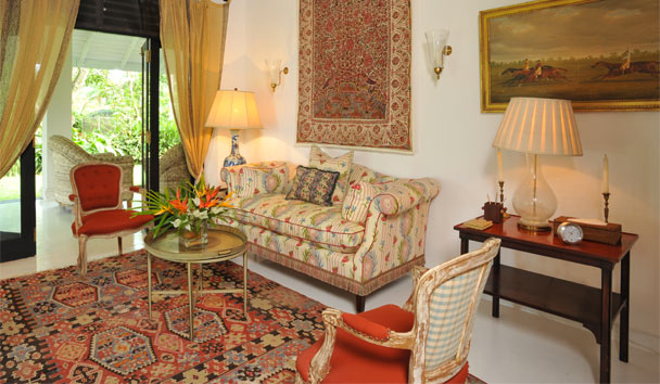 Kahanda Kanda Boutique Hotel: Garden Suite Living Area