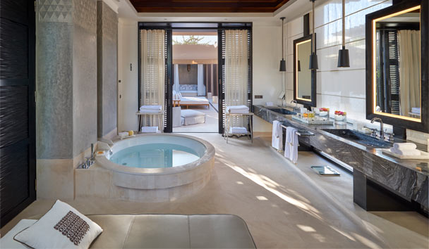 Mandarin Oriental Marrakech: Bathroom