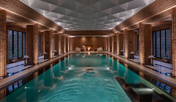 Mandarin Oriental Marrakech: Spa swimming pool