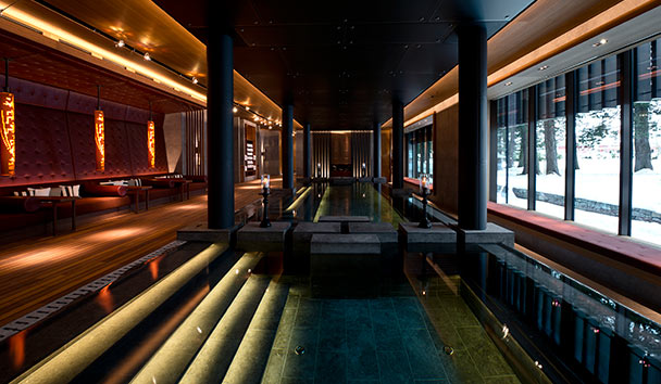 The Chedi Andermatt: Spa Hydrotherapy Pool