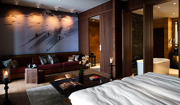 The Chedi Andermatt: Deluxe Room