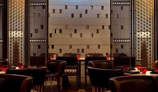 The Chedi Andermatt: The Japanese Restaurant by Hide Yamamoto