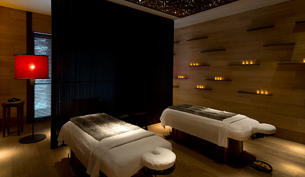 The Chedi Andermatt: Couple's Treatment Room in the Spa