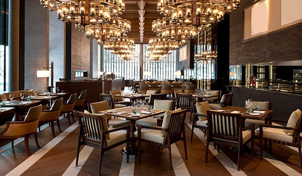 The Chedi Andermatt: The Restaurant