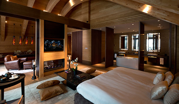 The Chedi Andermatt: Gemsstock Suite