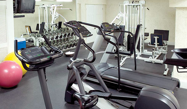 Cove Spring House: Fitness Room